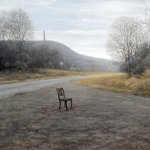Chair in Road